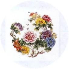 Virma 1052 Colorful Flowers Decal