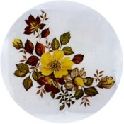 Virma decal 1192-Orange yellow flowers