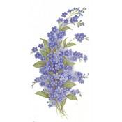 Virma decal 1244- Blue Lilacs