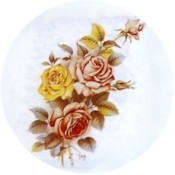 Virma decal 1324-Roses, 3 Different colors