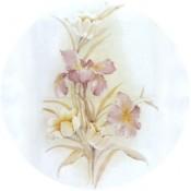 Virma decal 1370 - Subtle Flowers
