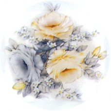 Virma 1412 Yellow Rose Decal