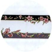 Virma decal 1534- Pink Flowers Mug Wrap