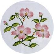 Virma decal 1538-Pink Flowers