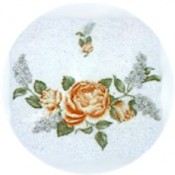 Virma decal 1644 Size A - Orange Flower (2 sheets: buy 1, get 1 free!)