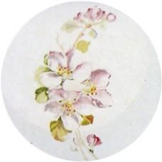 Virma 1714 Size C Pink/Purple Flowers Decal