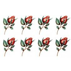 Decal Grab Bag - Red Roses