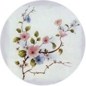 Virma decal 1856-Pink, Blue Flowers