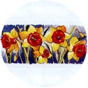 Virma decal 1872- Sunflowers mug wrap