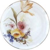 Virma decal 2184- Flowers-Orange, Purple, Blue, Yellow