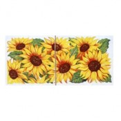 Virma decal 2278 - Sunflower mug wrap