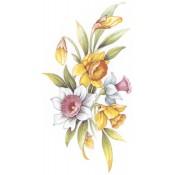 Virma decal 2242-Flowers, Yellow.