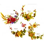 Virma decal 2336- Seasonal Flowers Clusters