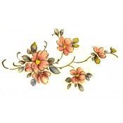 Virma decal 2338 - Pink Flowers