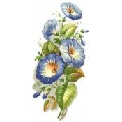 Virma decal 2380 - Blue Ipomoea