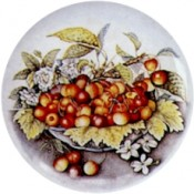 Virma decal 1820-Cherries in Bowl