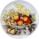 Virma decal 1822-Peaches in Bowl