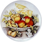 Virma decal 1822-Peaches in Bowl