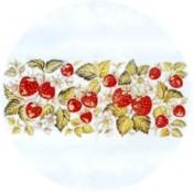 Virma decal 1854 - Strawberry Mug Wrap