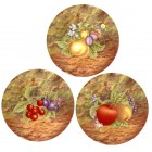 Virma decal 1902- Fruits, 3 different