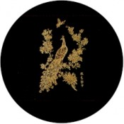 Virma decal 1112-Peacocks, Gold