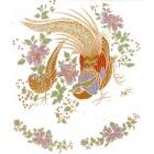 Virma decal 1116-Gold Birds