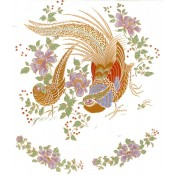 Virma decal 1116-Gold Birds