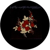Virma decal 1124-Roses in Gold and Red
