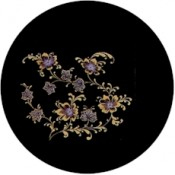 Virma decal 1140-Gold Flowers