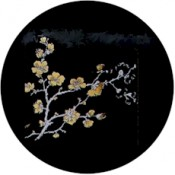 Virma decal 1146-Flowers, Gold