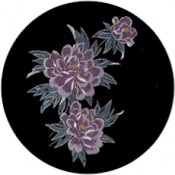 Virma decal 1498-Pink/Gold Flower