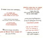 Virma decal 0003 - Assorted positive sayings