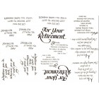 Virma decal 0006 - Retirement Mug Wrap Sayings