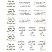 Virma decal 0023 - Mug Wrap Sayings-personally thoughful