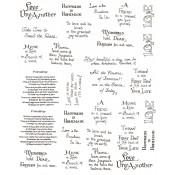 Virma decal 0025 - Mug Wrap Sayings-lovely/happiness