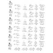 Virma decal 0027 - Mug Wrap Sayings-patience and temperment