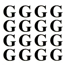 """Virma 040 Letter """"G"""" Decal"""