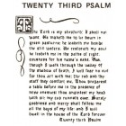 Virma decal 0098A-mug wrap sayings-23rd Psalm