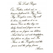Virma decal 0101B - Mug Wrap Sayings - Lord's Prayer 2