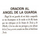 Virma decal 0109-mug wrap sayings-Oracion Al Angel De La Guarda-spanish prayer