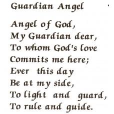 Virma 118 Mug Wrap Sayings Guardian Angel Poem Decal