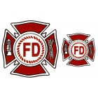Virma decal 0144-mug wrap sayings-Fire Dept. Logo