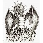 Virma decal 0185 - Dragon in black