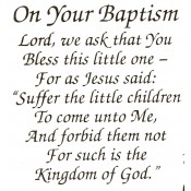 Virma decal 0218-mug wrap sayings- On Your Baptism