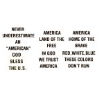 Virma decal 0228-mug wrap sayings-America Sayings 3