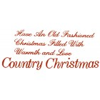 Virma decal 0113-mug wrap sayings-Christmas Wishes