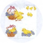 Virma decal 1034-Easter Chicks and Eggs