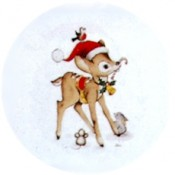 Virma decal 1254 - Christmas Fawn
