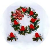 Virma decal 1280-Cardinal Wreath