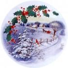 Virma decal 1386-Christmas Sleigh Ride Scene